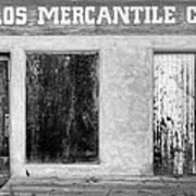 Taos Mercantile Art Print