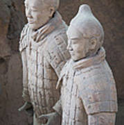 Terracotta Warriors, China Art Print