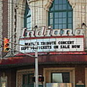 Terre Haute - Indiana Theater Art Print