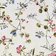 Textile Design Art Print
