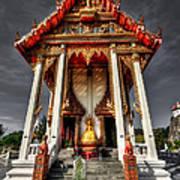 Thai Temple Art Print