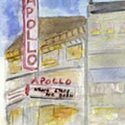 The Apollo Theatre Art Print