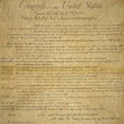 The Bill Of Rights, 1789 Art Print