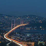 The Bosphorus Bridge  Art Print