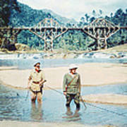 The Bridge On The River Kwai Art Print by Silver Screen