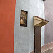 The Brown Door Art Print