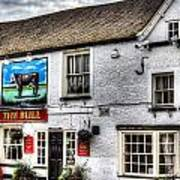The Bull Pub Theydon Bois Essex Art Print