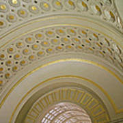 The Ceiling Of Union Station Art Print