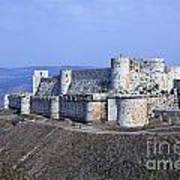 The Crusader Castle Krak Des Chevaliers Syria Art Print