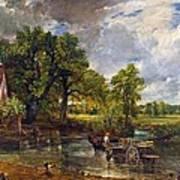 The Hay Wain Print by John Constable