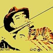 The Jazz Flutist Art Print