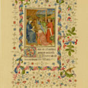 The Magi With Mary And Jesus -  Page Art Print