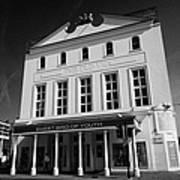 the old vic theatre London England UK Art Print