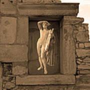 The Palaestra - Apollo Sanctuary Art Print