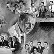 The Rat Pack  Art Print