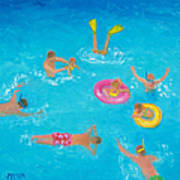 The Swimmers Art Print