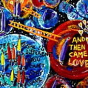 Then Came Love Art Print