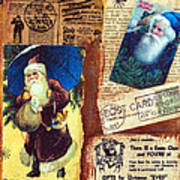 There Is A Santa Claus Art Print