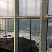 Through Lighthouse Window  Art Print