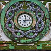 Time Art Print by Skip Hunt