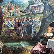 Tintoretto's The Worship Of The Golden Calf Art Print