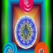 Divine Wealth Art Print