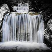 2 Tone Waterfall Art Print