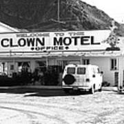 Tonopah Nevada - Clown Motel Art Print
