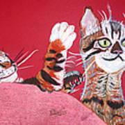 2 Tora's Art Print