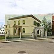 Touro Synagogue In Newport Rhode Island Art Print