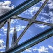 Tower Bridge And The Shard Art Print