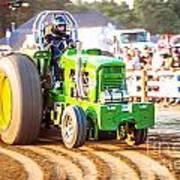 Tractor Pull Art Print
