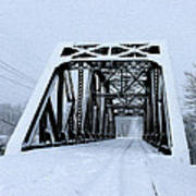 Train Bridge Art Print