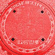 Tricolor Manhole Art Print