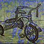 Tricycle Art Print by William Cauthern