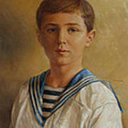 Tsarevich Alexei Of Russia Art Print
