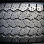 Tyre Tread Art Print