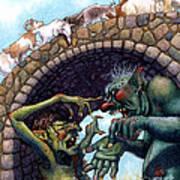 2 Ugly Trolls Art Print