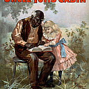 Uncle Toms Cabin, C1899 Art Print