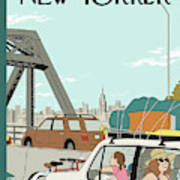 New Yorker July 26th, 2010 Art Print