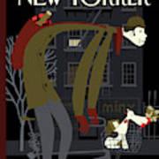 New Yorker January 18th, 2010 Art Print