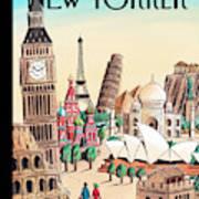 New Yorker April 20th, 2009 Art Print