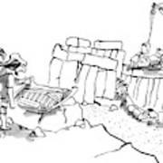New Yorker February 23rd, 2009 Art Print