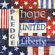 Usa Pride 1 Art Print