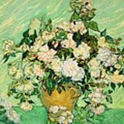 Van Gogh's Roses Art Print
