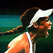 Venus Williams Art Print