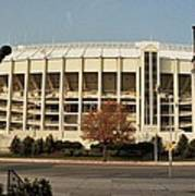 Veterans Stadium Art Print