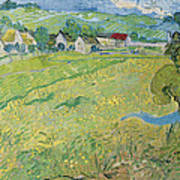 View Of Vessenots Near Auvers Art Print