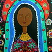 Virgin Guadalupe Art Print