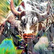 Wall Street Bull  Art Print